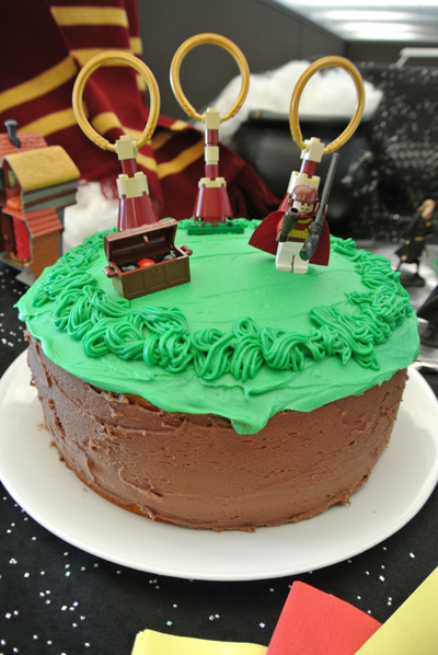Quidditch Cake Baking For The Office