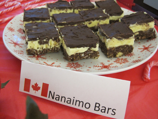 Difficult to cut, but super easy to eat. Even Chuck Norris probably has a hard time fighting the urge to eat Nanaimo Bars.