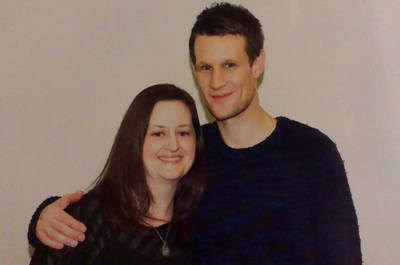 Matt Smith was my bff for approximately 32 seconds. It was lovely.