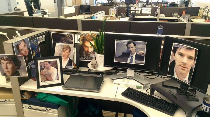 That's a whole lot of sexy on my desk.
