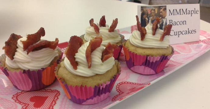 MMMaple Bacon Cupcakes