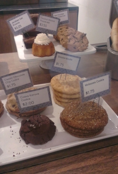 The cookies at Little T Baker. Meh.