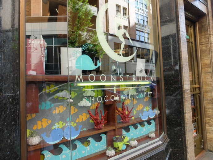 There are five Moonstruck locations around Portland, so you're bound to run into one of them.