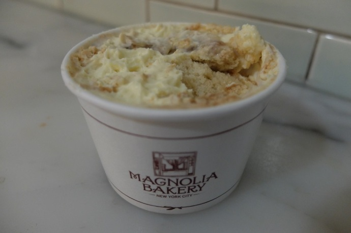 Eating the banana pudding is like taking a quick trip to the South without ever leaving New York.