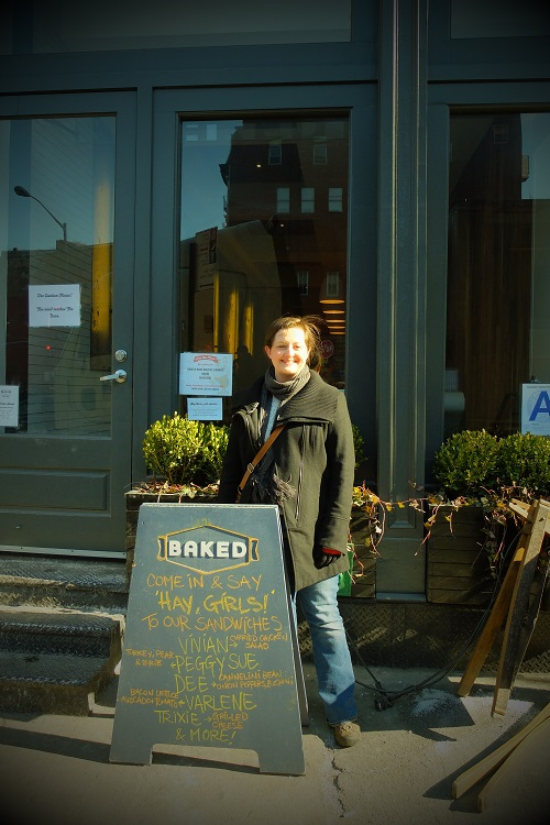 Look, Ma! I'm at Baked!