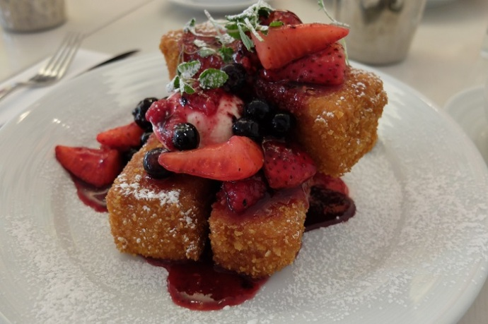 French Toast has never been crunchier or sweeter.